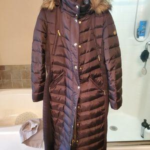 Micheal kors anckle lenght jackets new medium